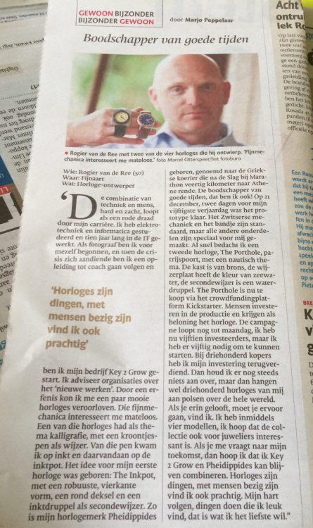 Newspaper article BN de Stem